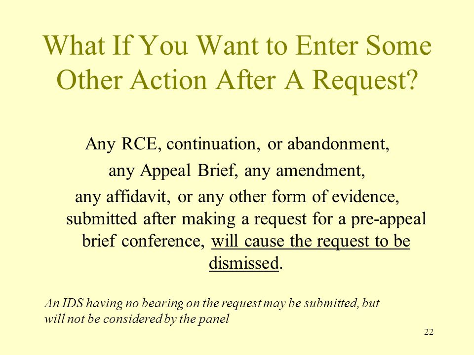22 What If You Want to Enter Some Other Action After A Request.