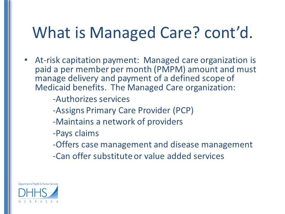 What are examples of long-term services and supports.