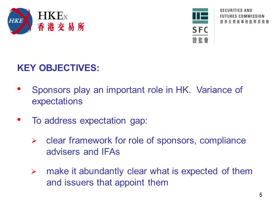 6 KEY ASPECTS: Conclusions and amended rules: WILL clearly set out:  when sponsors, CAs and IFAs must be appointed WILL codify current expectations  when sponsors, CAs and IFAs must be independent and what is independence