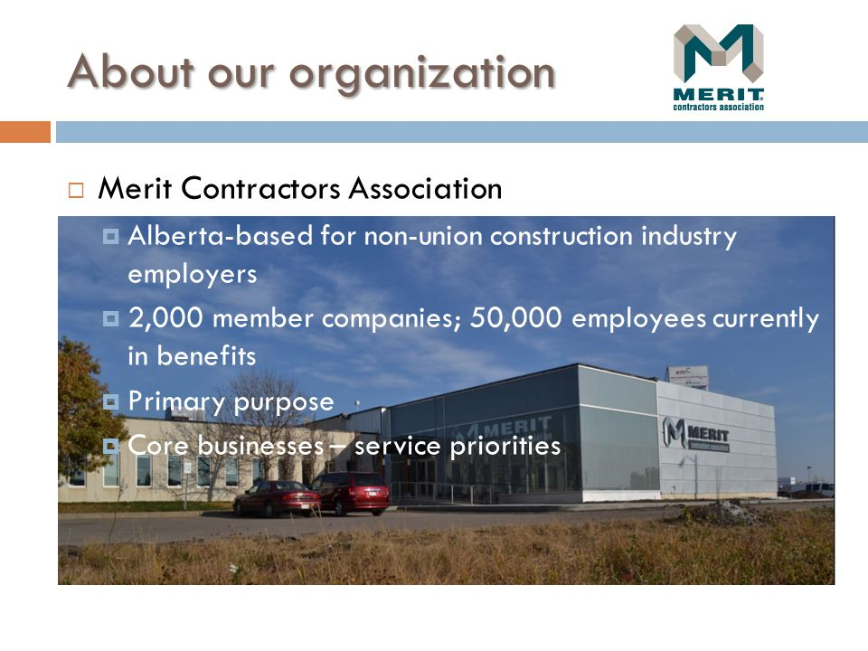 About our organization (Merit) (cont.)