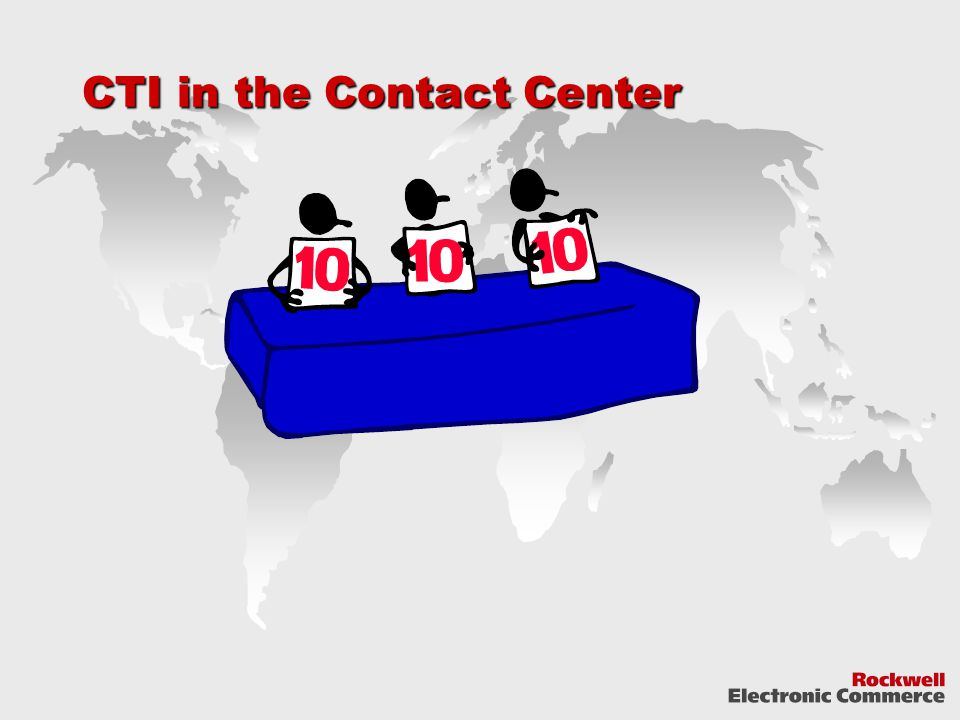 CTI in the Contact Center