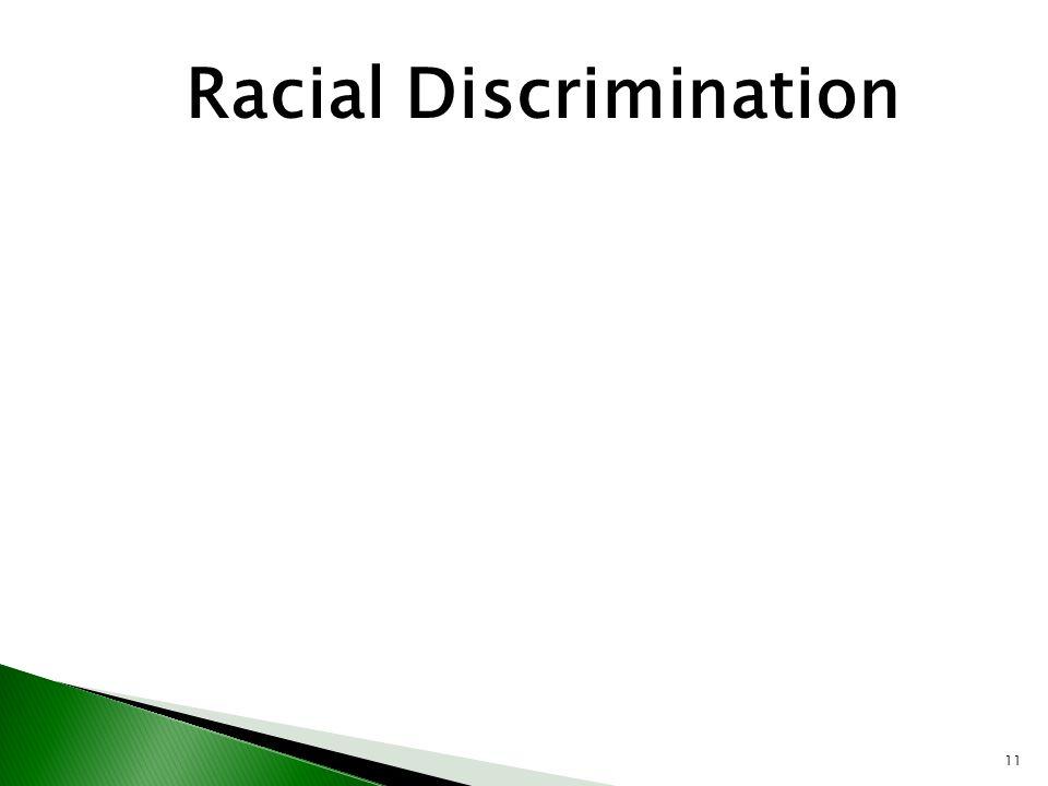 11 Racial Discrimination