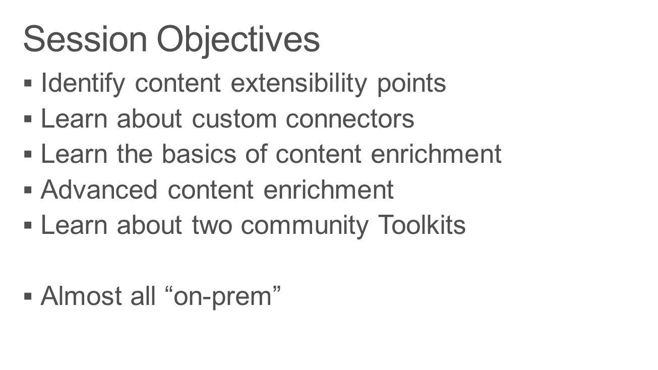 Architecture overview Content ingestion Content enrichment Advanced enrichment
