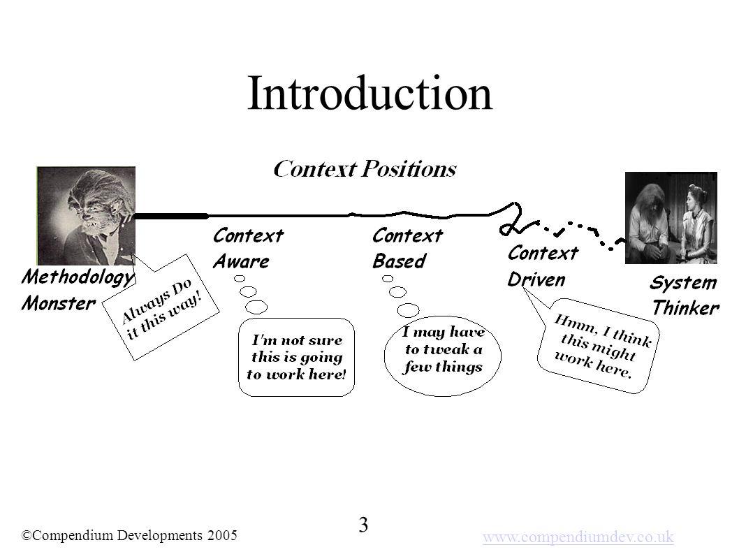 www.compendiumdev.co.uk 3 ©Compendium Developments 2005 Introduction