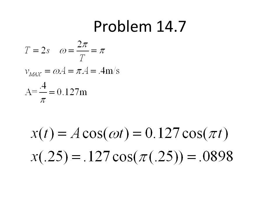 Problem 14.7