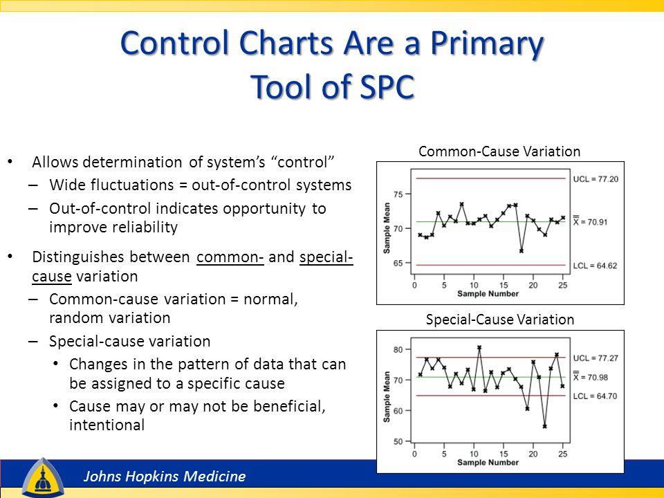 Johns Hopkins Medicine Features of an SPC Chart