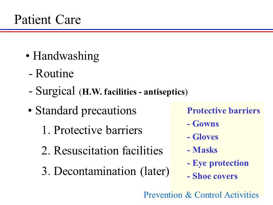 Handwashing - Routine - Surgical (H.W.