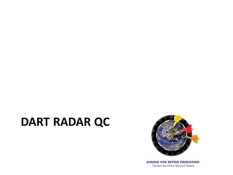 DART RADAR QC