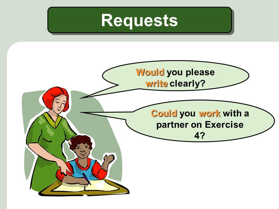 More Requests NO!.I'm sorry, I can't. I can't. I don't accept late homework.