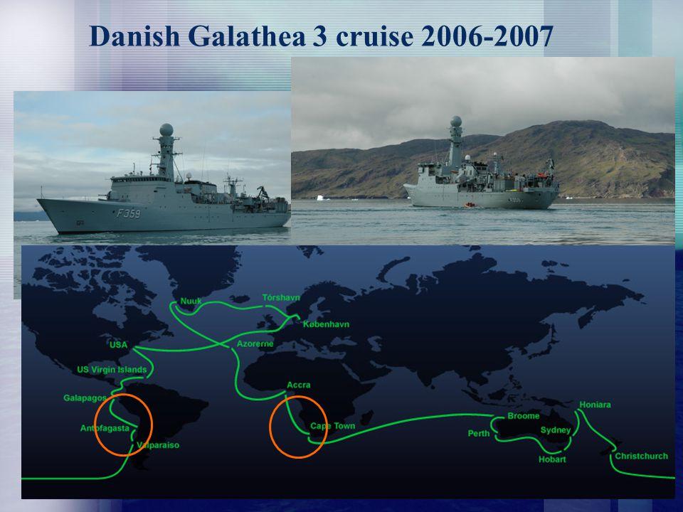 Danish Galathea 3 cruise 2006-2007