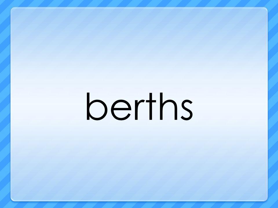 berths