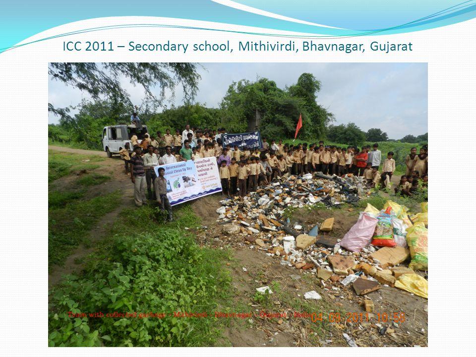 ICC 2011 – Secondary school, Mithivirdi, Bhavnagar, Gujarat