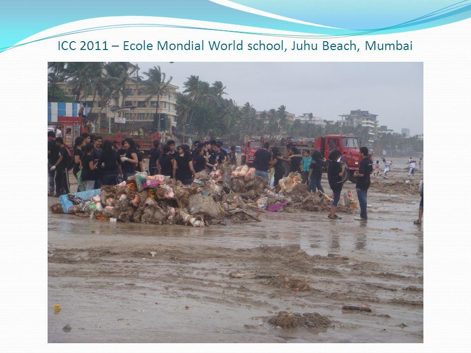ICC 2011 – Ecole Mondial World school, Juhu Beach, Mumbai