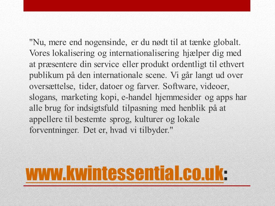 www.kwintessential.co.ukwww.kwintessential.co.uk: