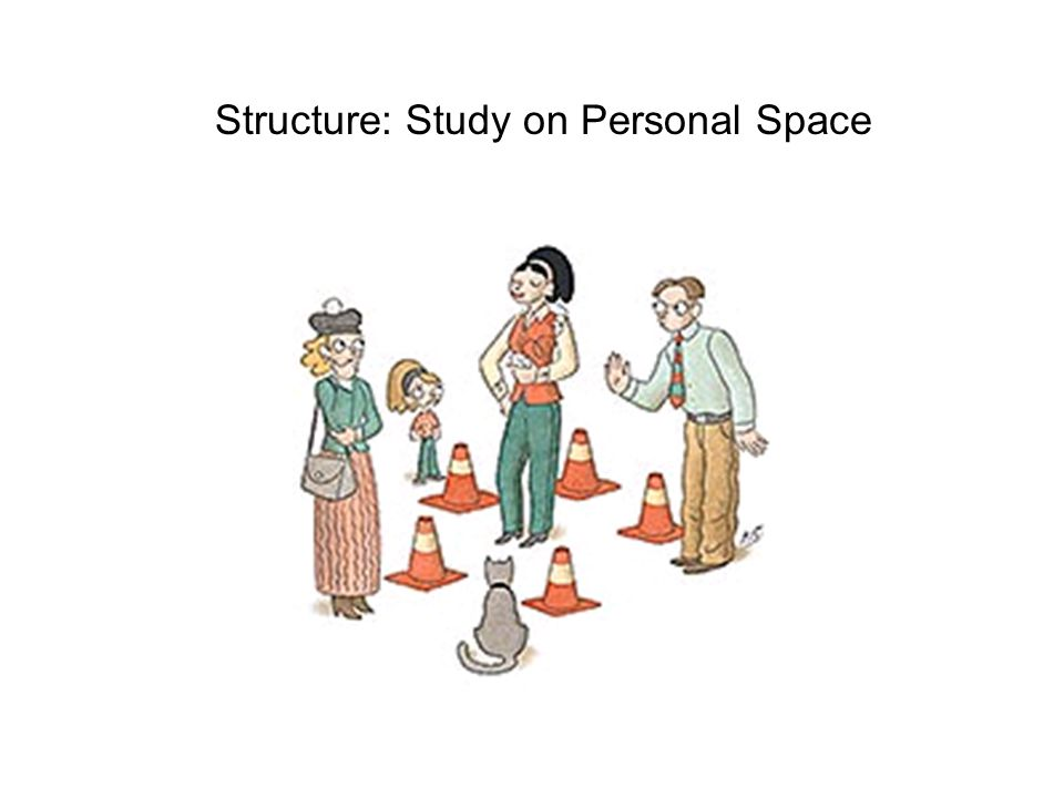 Structure: Study on Personal Space