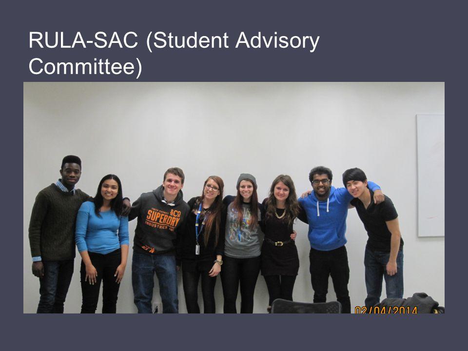 RULA-SAC (Student Advisory Committee)