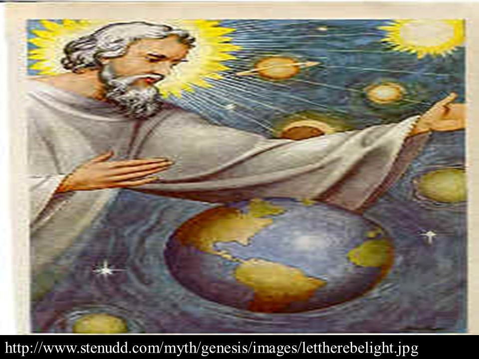 DAY TWO: God created the firmament, or sky, and separated the water below from the water above.