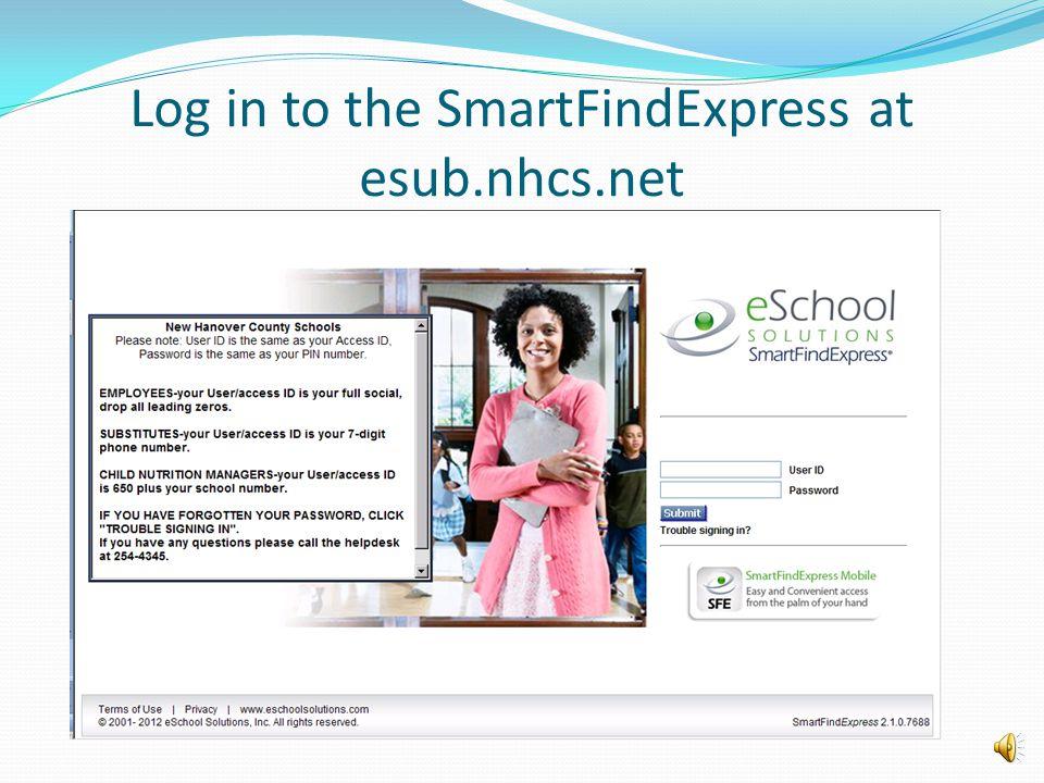 SmartFindExpress Substitute System