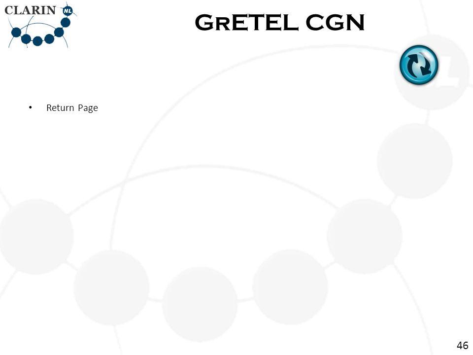 Return Page GrETEL CGN 46