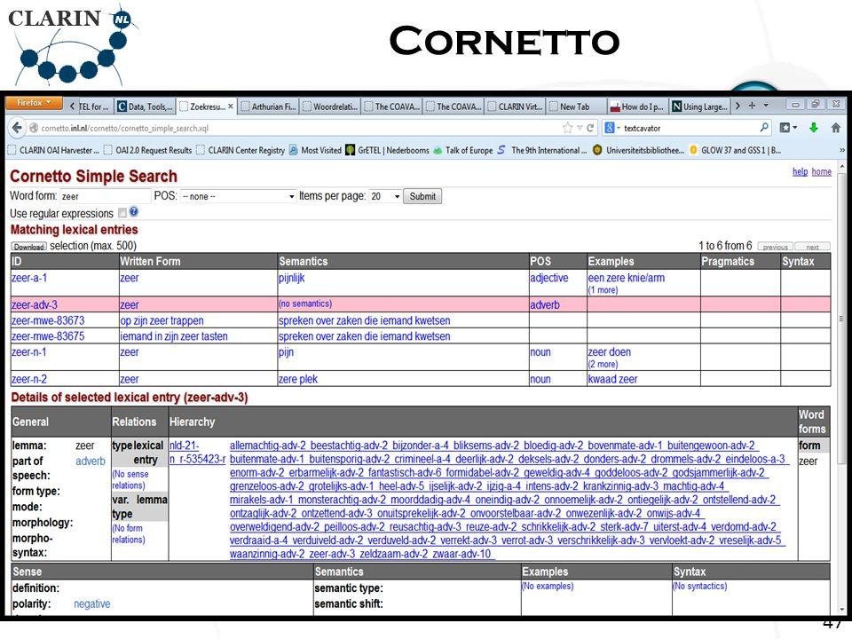 Return Page Cornetto 47