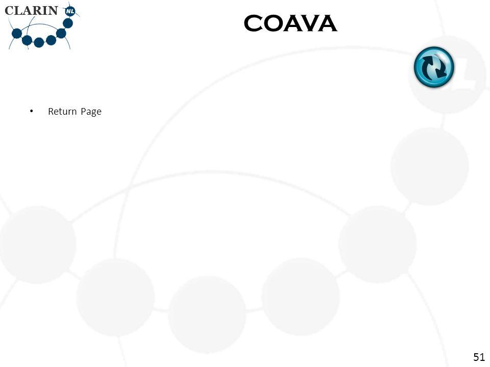 Return Page COAVA 51