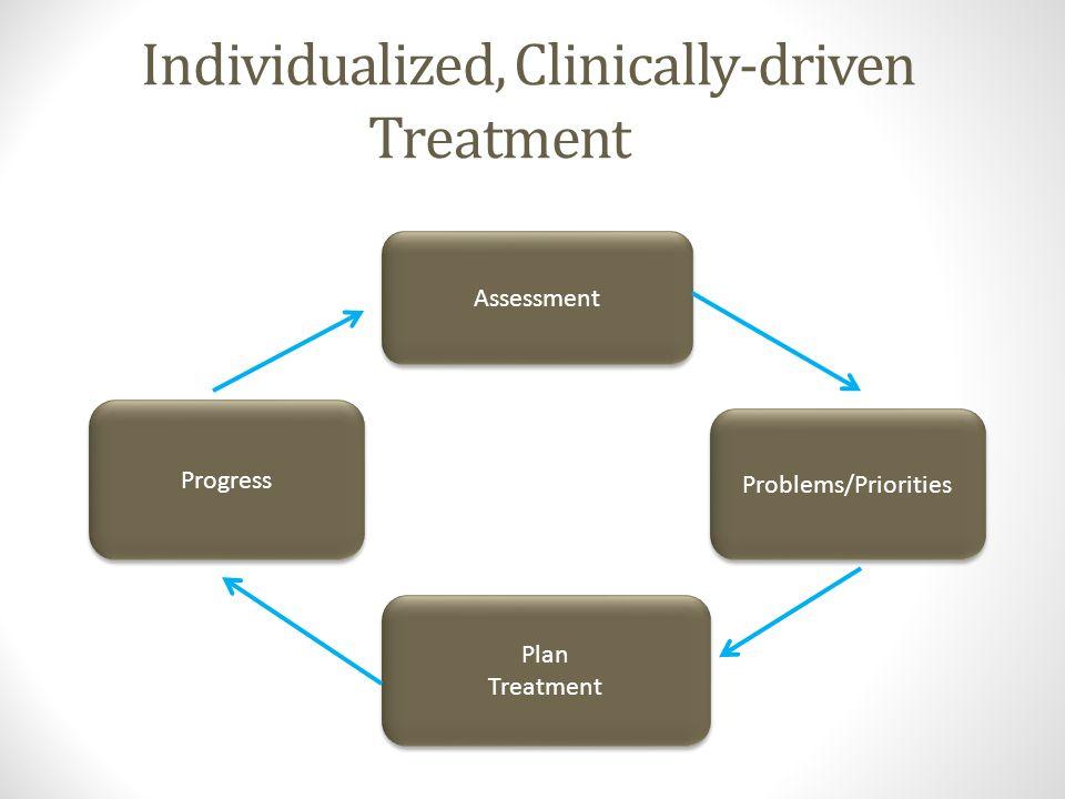 Program-driven Treatment Diagnosis Program Aftercare Relapse