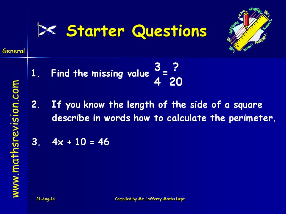 Harder Fractions 21-Aug-14Compiled by Mr.Lafferty Maths Dept.