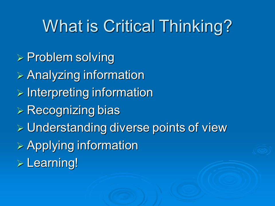 Becoming a Fair-Minded Critical Thinker  Our ability to be fair-minded is the result of cognitive and socio-emotional development.