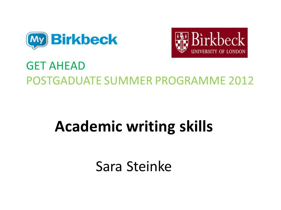 academic writing skills Academic writing is different from other types of writing, and the academic writing skills that you need are different the skills needed for academic writing can be divided into two sets the skills to do with the writing itself and the skills needed to with everything else.