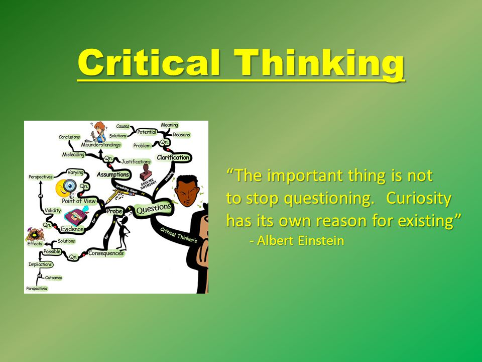 critical thinking is not emotionless thinking
