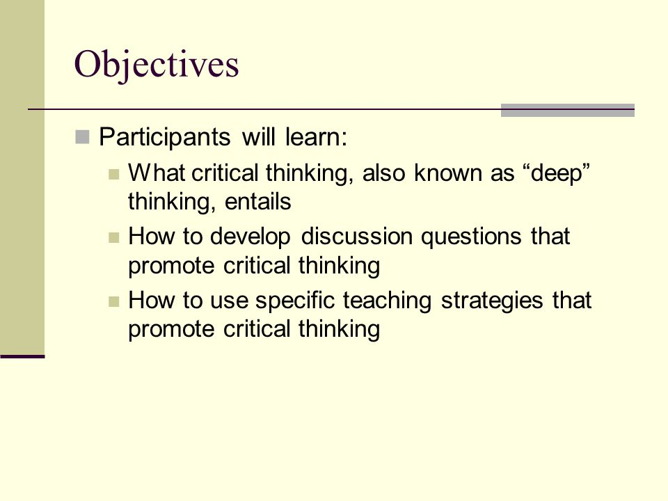 Tools to Develop Critical Thinking Skills Before College
