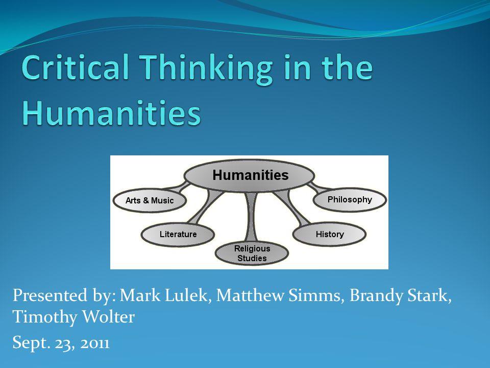 Presented by: Mark Lulek, Matthew Simms, Brandy Stark, Timothy Wolter Sept. 23, 2011