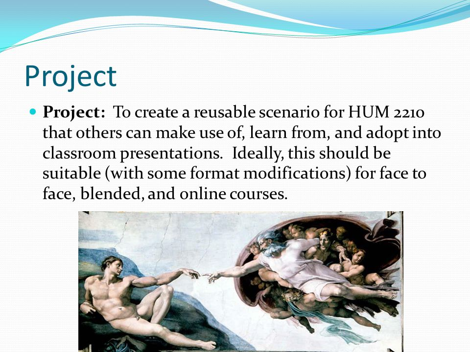 An HUM 2233 Writing Project based on the same Rubric This is an In-Class Writing.