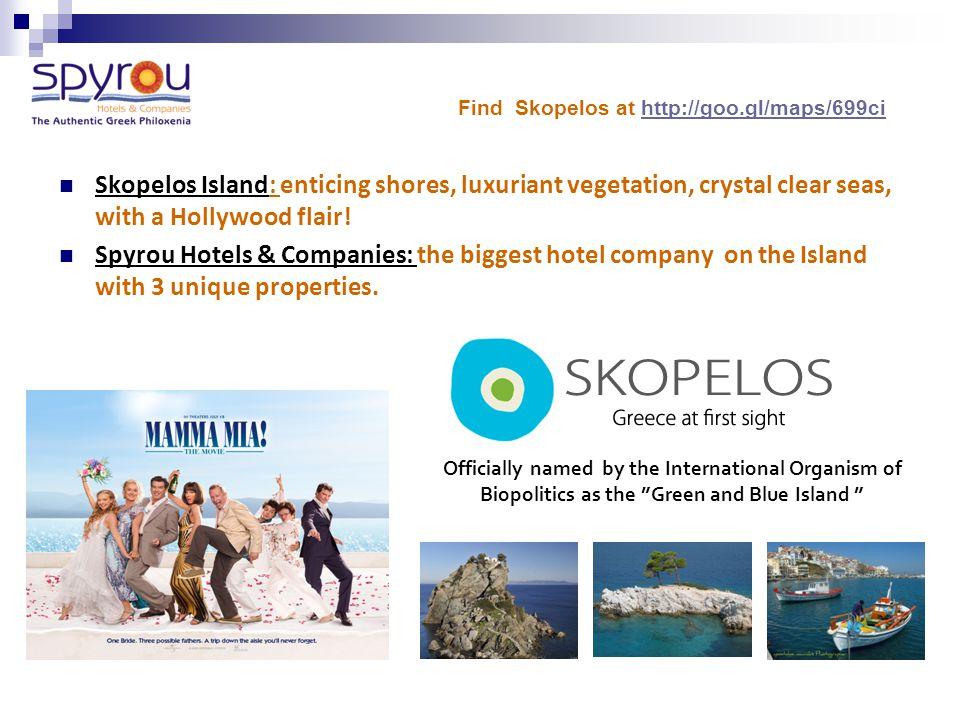 Spyrou Hotels & Companies Skopelos Island - Greece