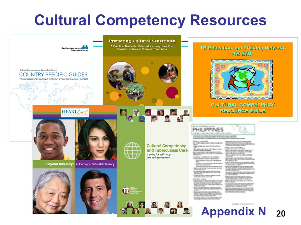 Cultural Competency Resources 20 Appendix N