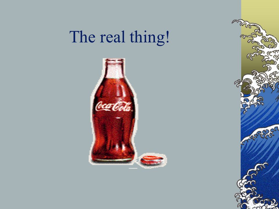 The real thing!