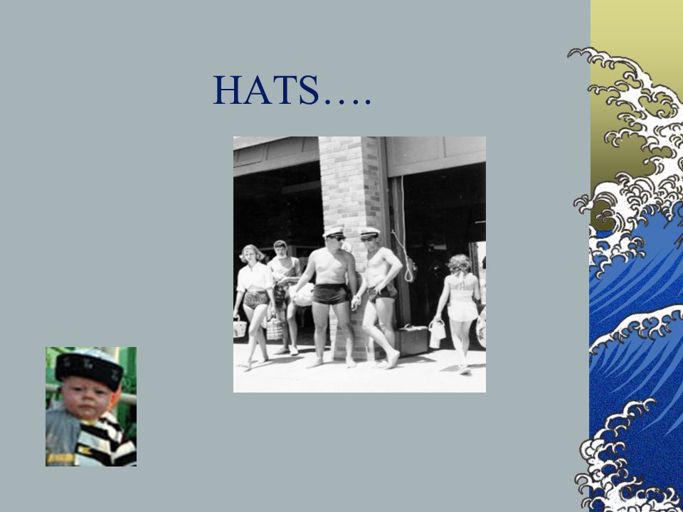 HATS….