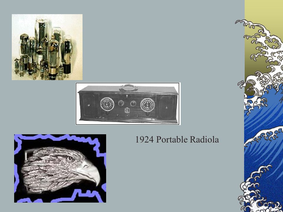 1924 Portable Radiola