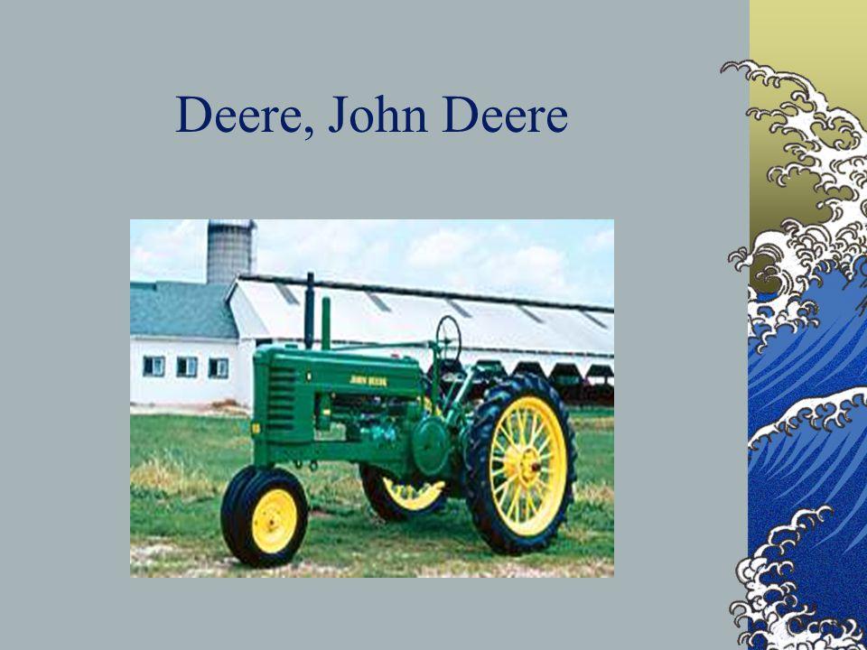 Deere, John Deere