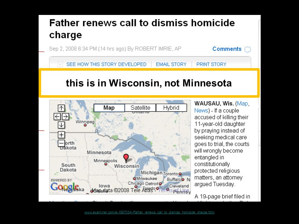 www.examiner.com/a-1567034~Father_renews_call_to_dismiss_homicide_charge.html this is in Wisconsin, not Minnesota
