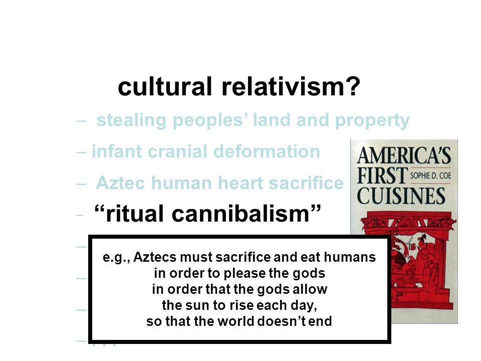 cultural relativism.