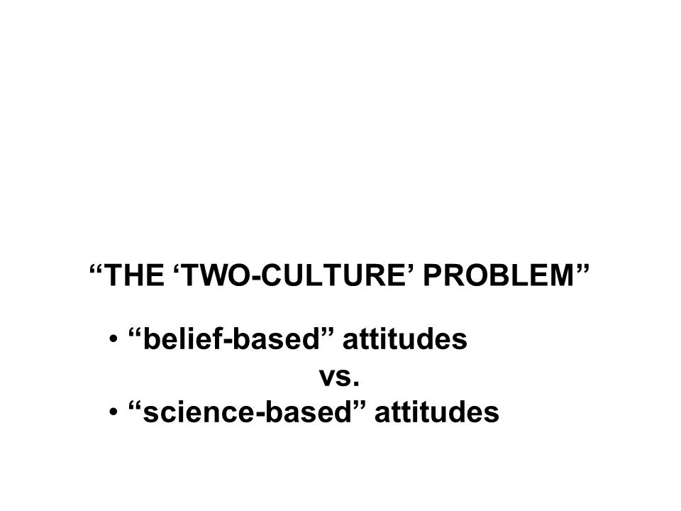 "Marion Nestle Food Politics, Revsed Ed. Ch. 10 ""Science versus Supplements: 'A Gulf of Mutual Incomprehension'"" ""THE 'TWO-CULTURE' PROBLEM"" ""belief-ba"