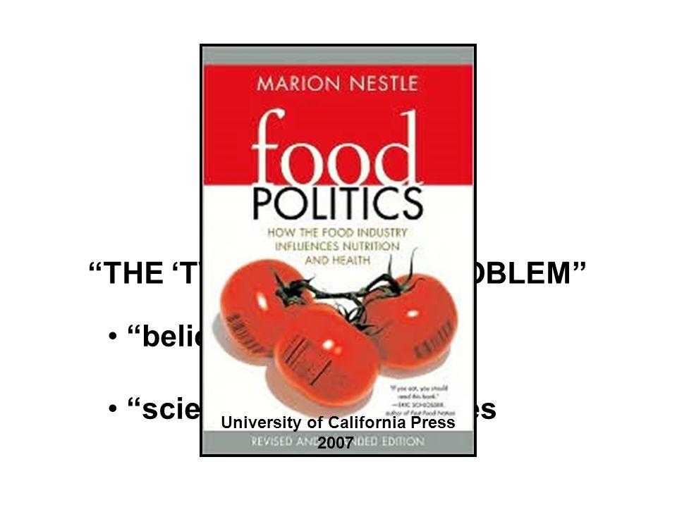 Marion Nestle Food Politics, Revsed Ed.Ch.
