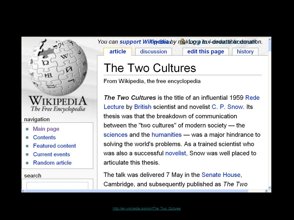 http://en.wikipedia.org/wiki/The_Two_Cultures