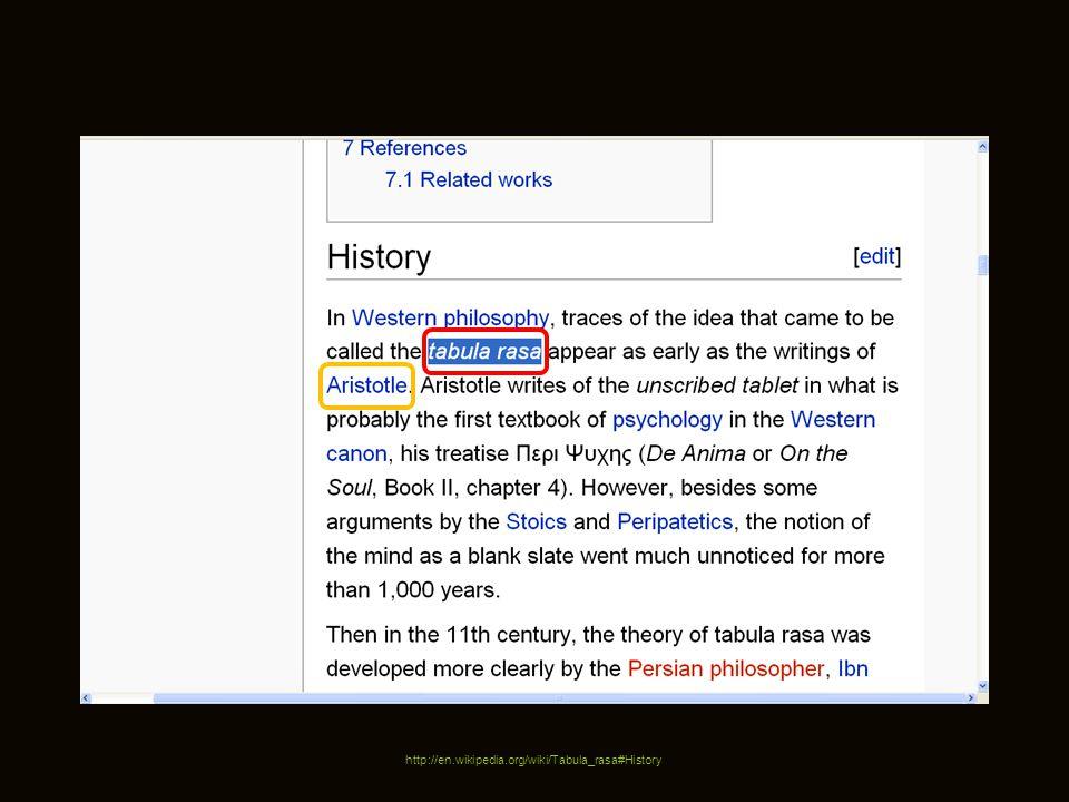 http://en.wikipedia.org/wiki/Tabula_rasa#History