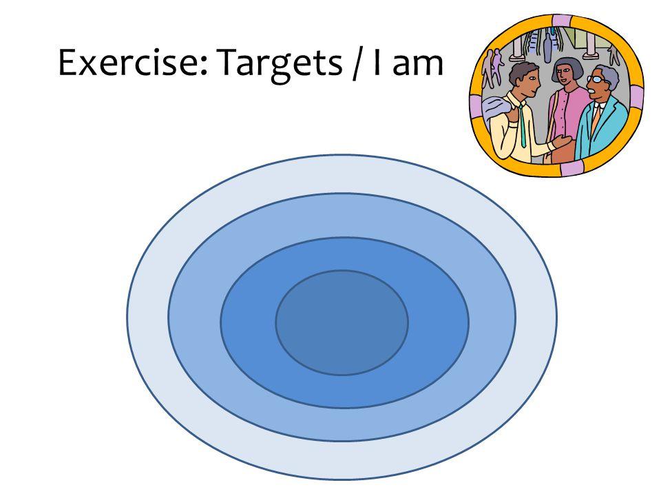 Exercise: Targets / I am
