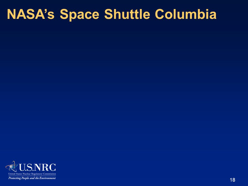 18 NASA's Space Shuttle Columbia