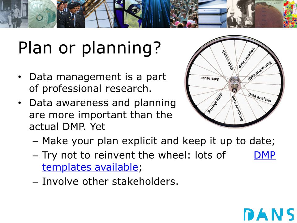 Data management is a part of professional research.
