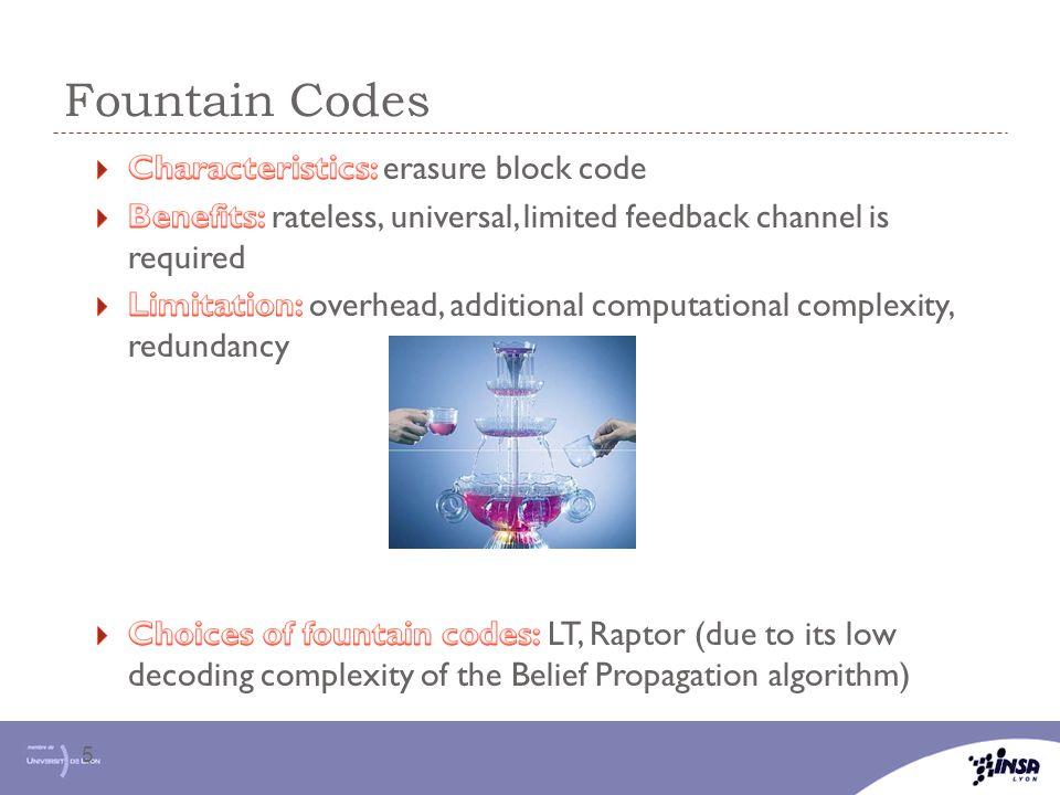 Fountain Codes 5