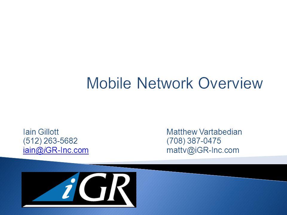 www.iGR-inc.com Source: iGillott Research, Inc, 2012 22 Questions?